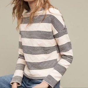 Eri + Ali Anthropologie Textured Pullover Sweater